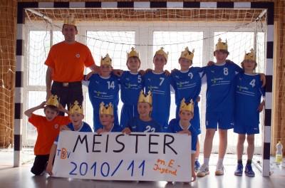 Kreismeister männliche E-Jugend TSV Birkenau